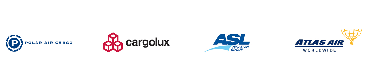 Clients: POLAR AIR CARGO, cargolux, ASL AVIATION GROUP, ATLAS AIR WORLDWIDE